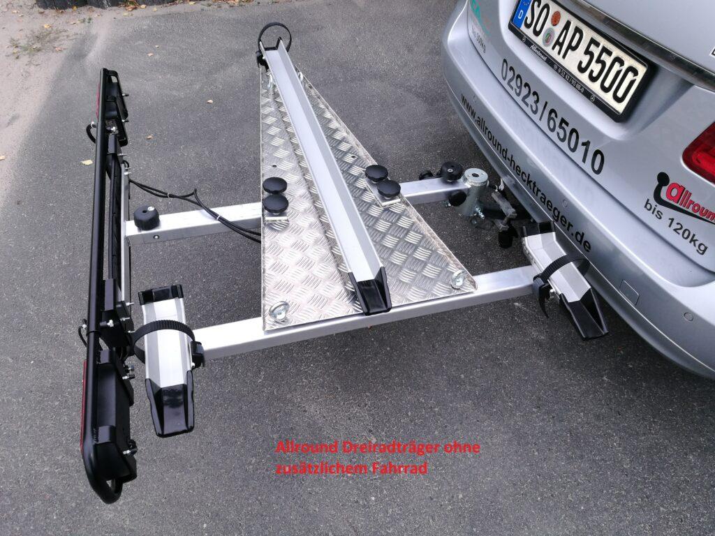 Allround Spezial-Hecklastenträger e-BB/Freeliner für Anhängerkupplung