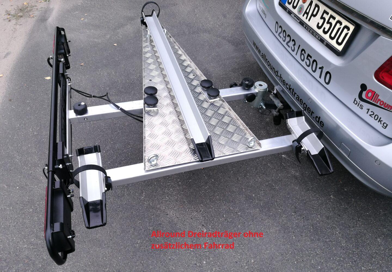 Allround Spezial-Hecklastenträger e-BB/Freeliner für Anhängerkupplung- breite Version EVO II Modelle