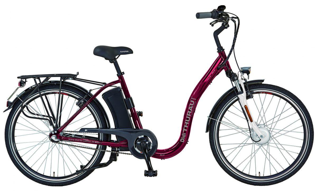 Saxonette Mofa Elektro Fahrrad mit FGasgriff selbstfahrend Ohne Treten