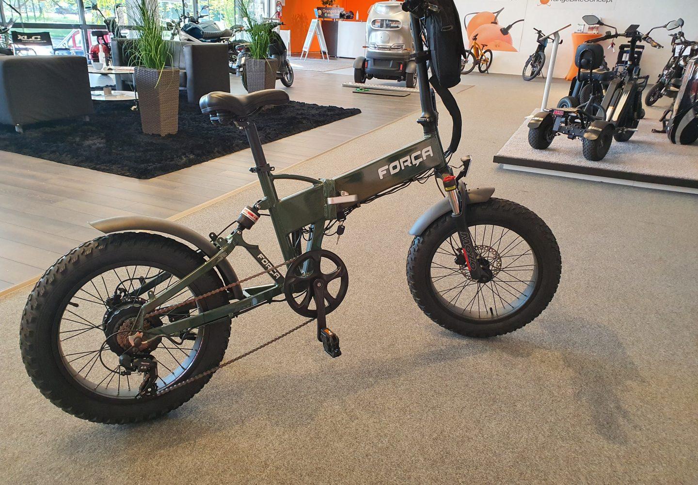 "E-Bike FOLIBIKE-""X"" 20″ Faltfahrrad Fatbike Reifen 20*4.0 750Watt 48V Pedelec ohne STVZO"