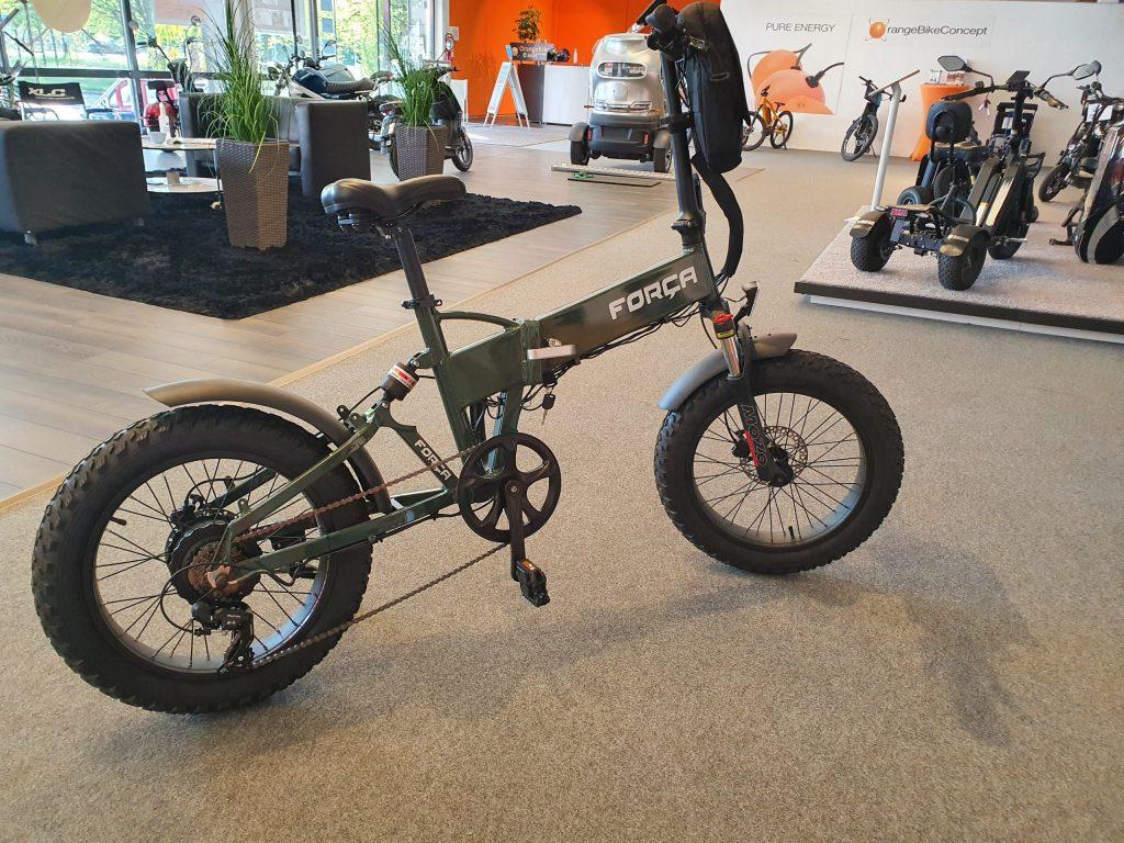 Fat Bike OrangeBike Pedelec Gasgriff Speed 1