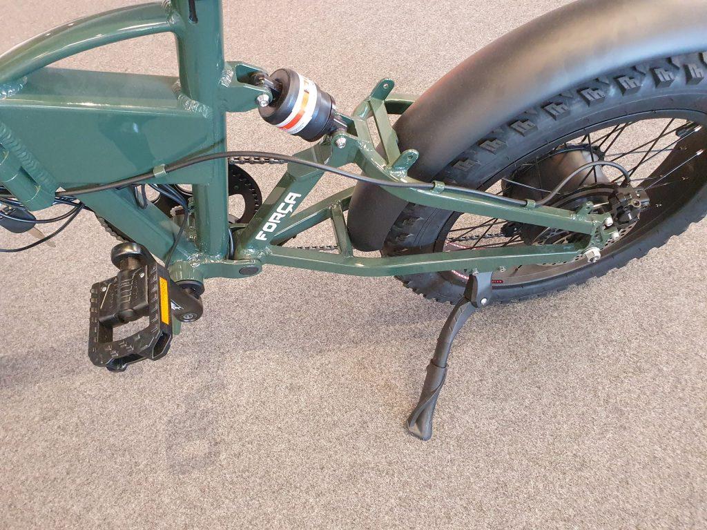 Fat Bike OrangeBike Pedelec Gasgriff Speed 13