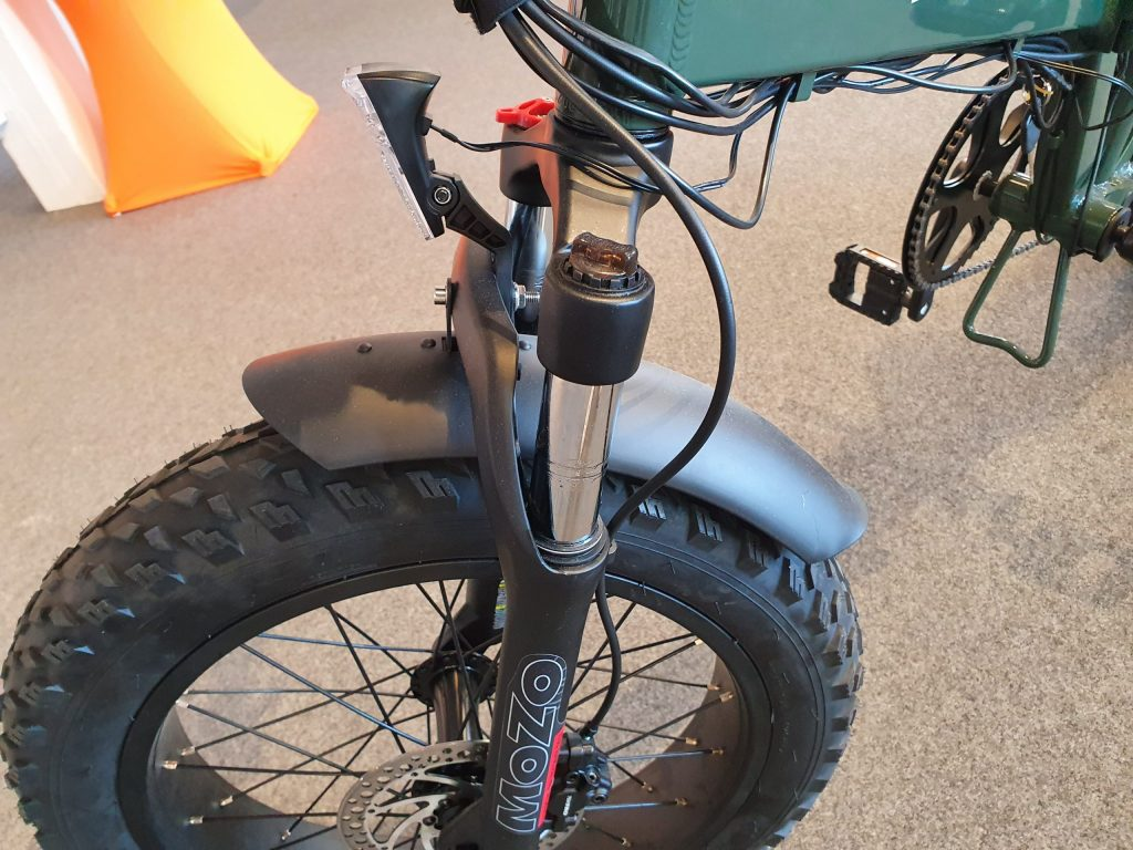 Fat Bike OrangeBike Pedelec Gasgriff Speed 16