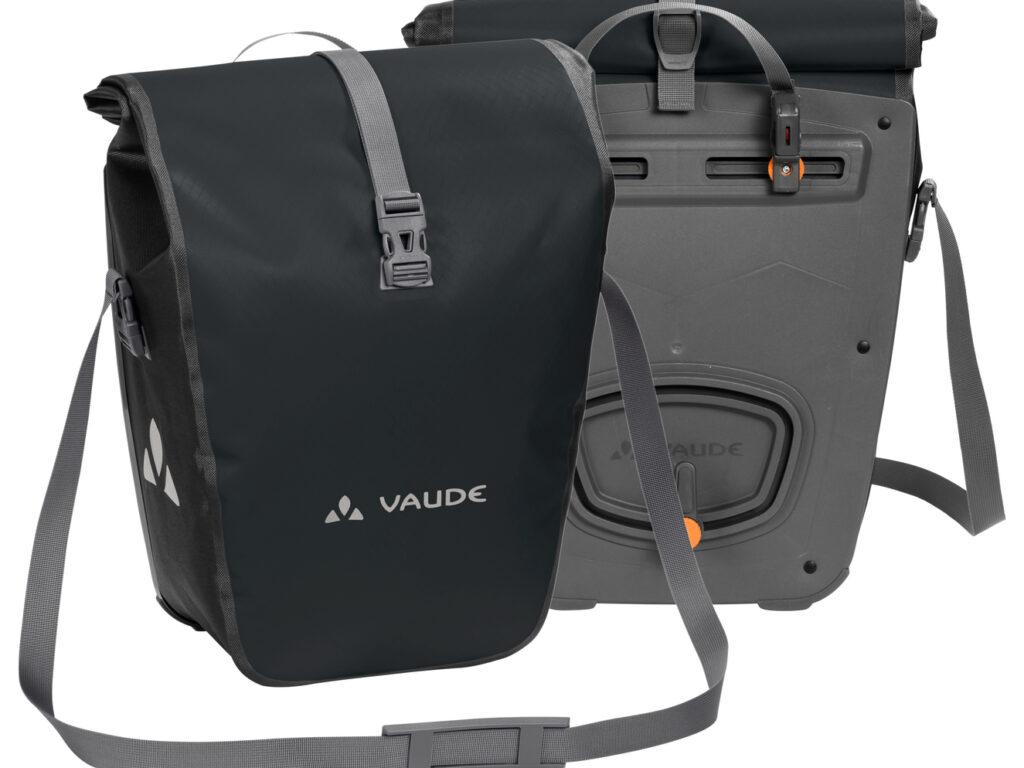 Vaude Aqua Front schwarz Gepäckträgertaschen 1 Paar